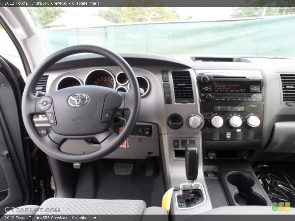 Graphite Interior Dashboard for the 2012 Toyota Tundra SR5 CrewMax #55999812