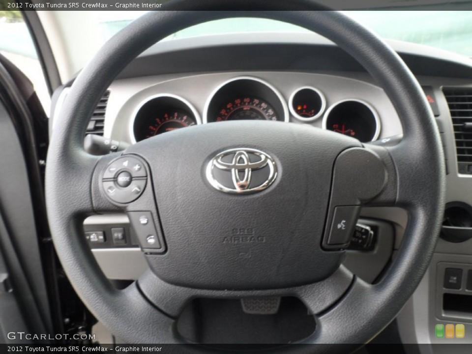 Graphite Interior Steering Wheel for the 2012 Toyota Tundra SR5 CrewMax #55999852