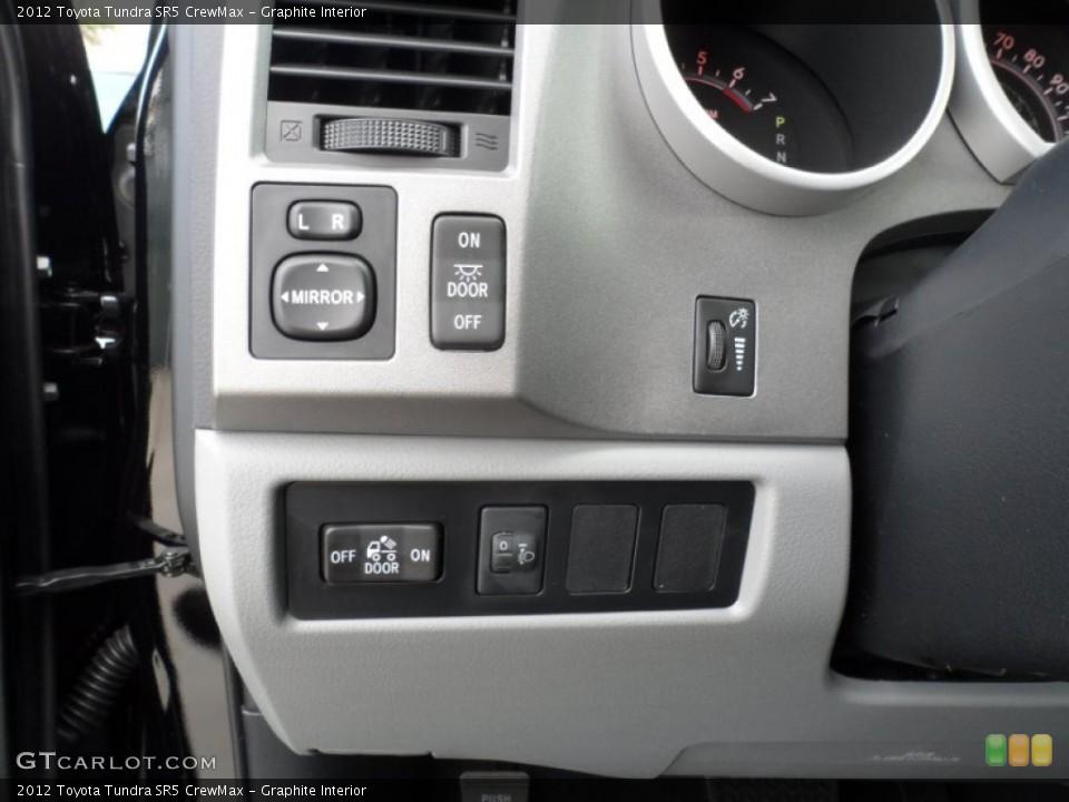 Graphite Interior Controls for the 2012 Toyota Tundra SR5 CrewMax #55999870