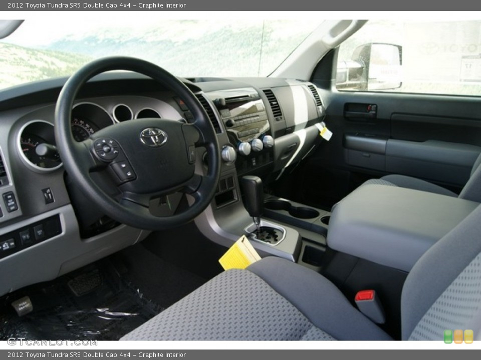Graphite Interior Photo for the 2012 Toyota Tundra SR5 Double Cab 4x4 #56068208