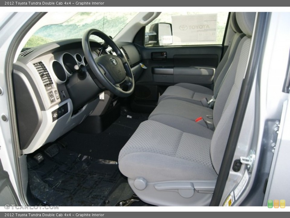 Graphite Interior Photo for the 2012 Toyota Tundra Double Cab 4x4 #56068585