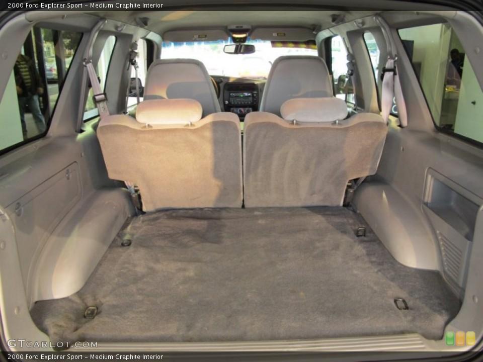 Medium Graphite Interior Trunk for the 2000 Ford Explorer Sport #56070542