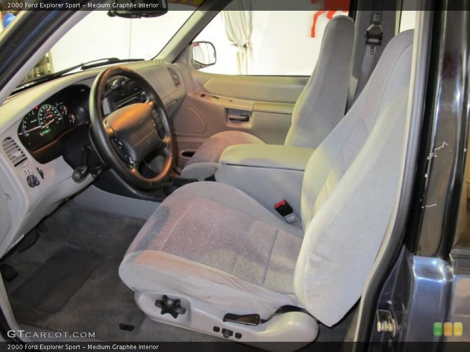 Medium Graphite Interior Photo for the 2000 Ford Explorer Sport #56070557