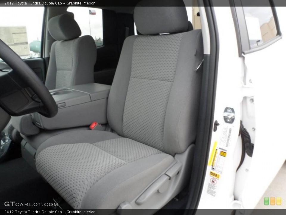 Graphite Interior Photo for the 2012 Toyota Tundra Double Cab #56271683