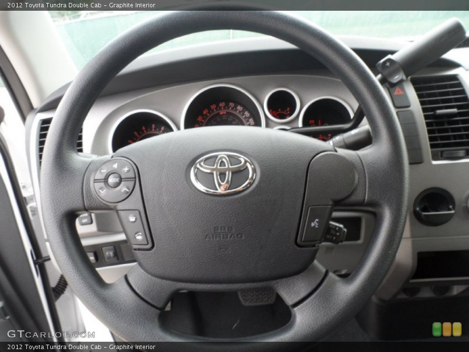 Graphite Interior Steering Wheel for the 2012 Toyota Tundra Double Cab #56271719