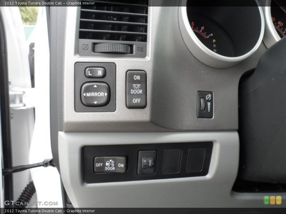 Graphite Interior Controls for the 2012 Toyota Tundra Double Cab #56271731