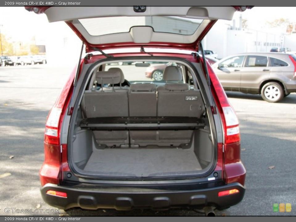Gray Interior Trunk for the 2009 Honda CR-V EX 4WD #56312910