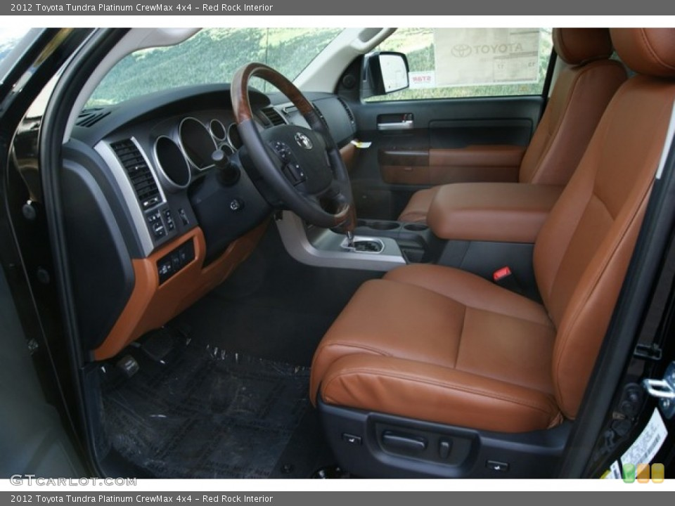 Red Rock Interior Photo for the 2012 Toyota Tundra Platinum CrewMax 4x4 #56386573