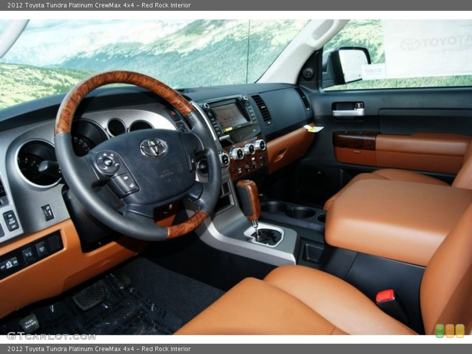 Red Rock Interior Photo for the 2012 Toyota Tundra Platinum CrewMax 4x4 #56386585