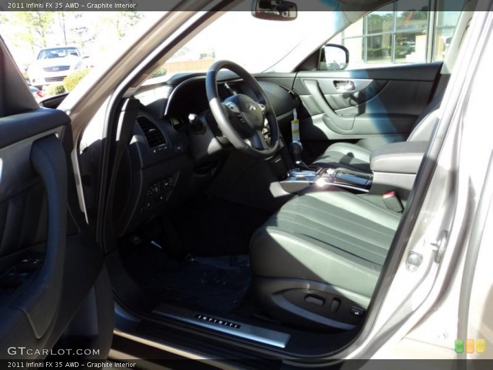 Graphite Interior Photo for the 2011 Infiniti FX 35 AWD #56413990