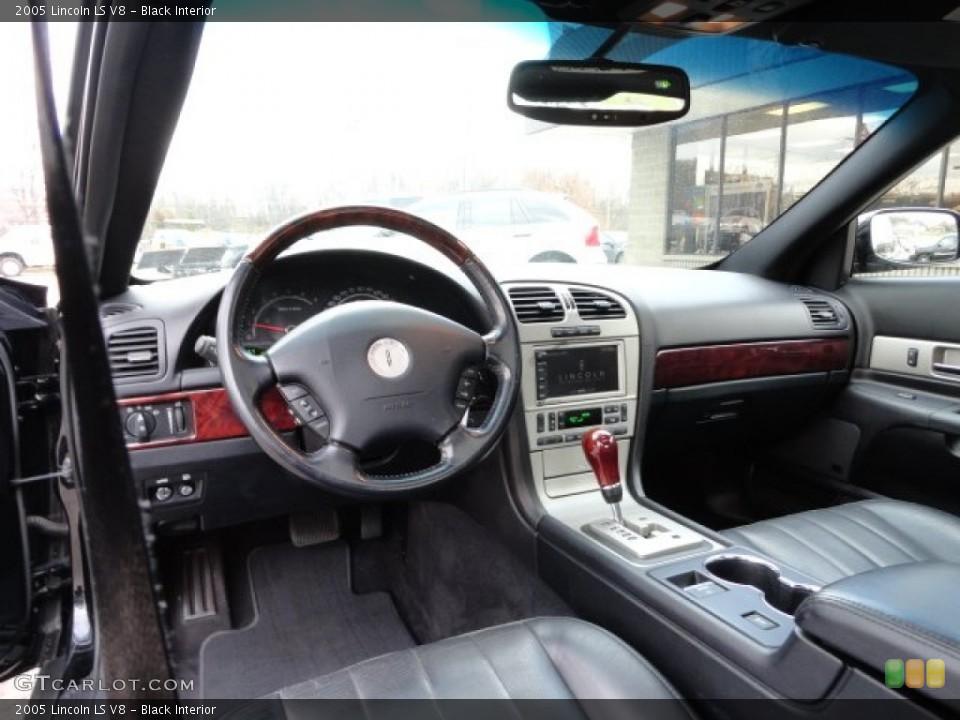 2005 Lincoln Ls V8 >> Black Interior Dashboard For The 2005 Lincoln Ls V8