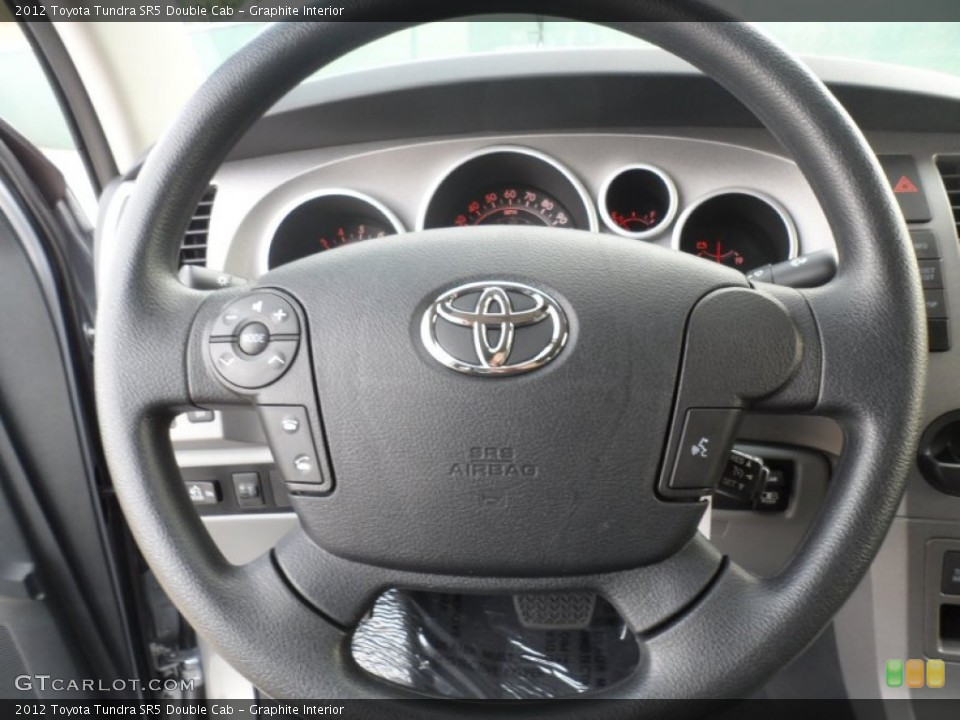 Graphite Interior Steering Wheel for the 2012 Toyota Tundra SR5 Double Cab #56521309