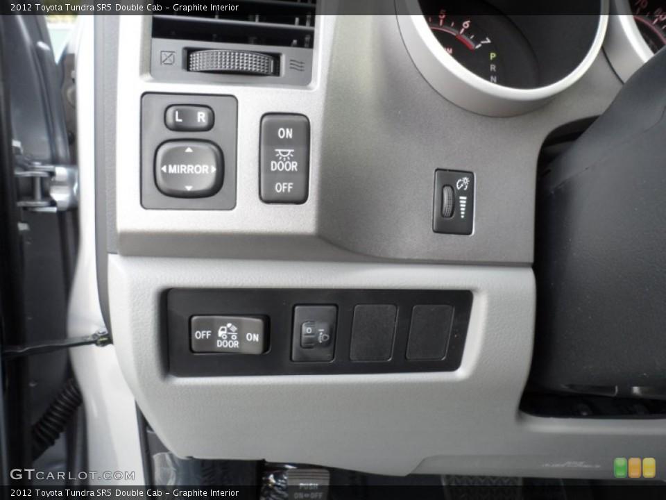 Graphite Interior Controls for the 2012 Toyota Tundra SR5 Double Cab #56521327
