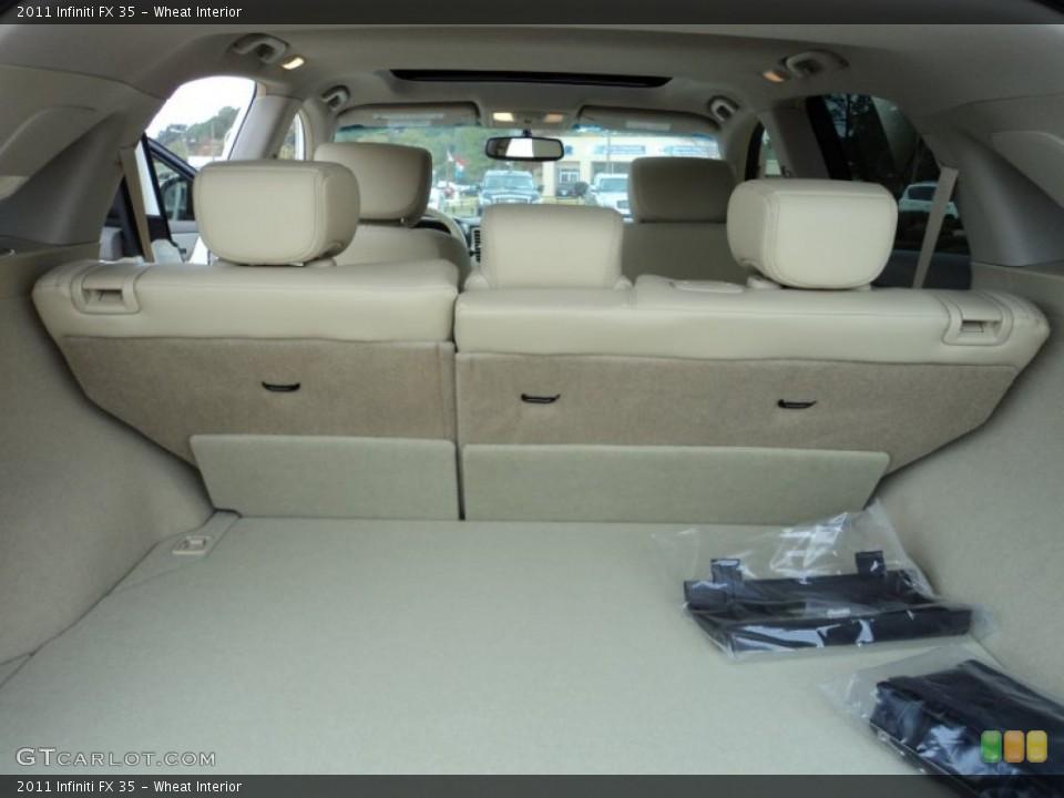 Wheat Interior Trunk for the 2011 Infiniti FX 35 #56552098