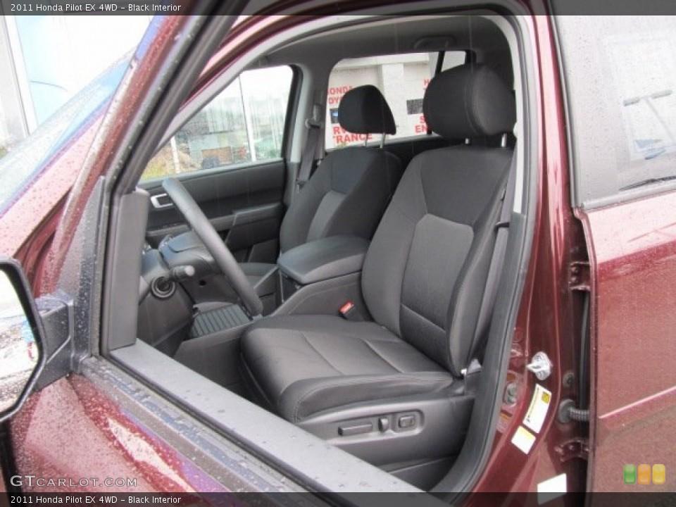 Black Interior Photo for the 2011 Honda Pilot EX 4WD #56573157