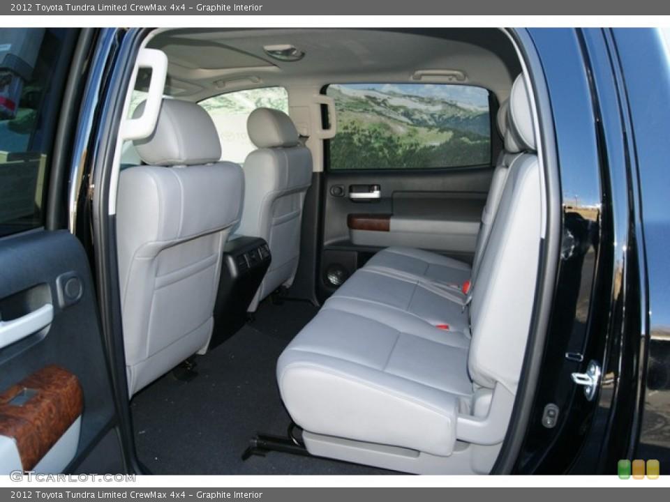 Graphite Interior Photo for the 2012 Toyota Tundra Limited CrewMax 4x4 #56597218