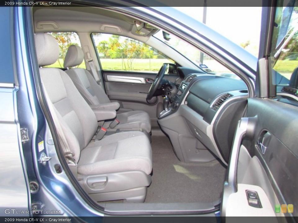Gray Interior Photo for the 2009 Honda CR-V LX #56715989