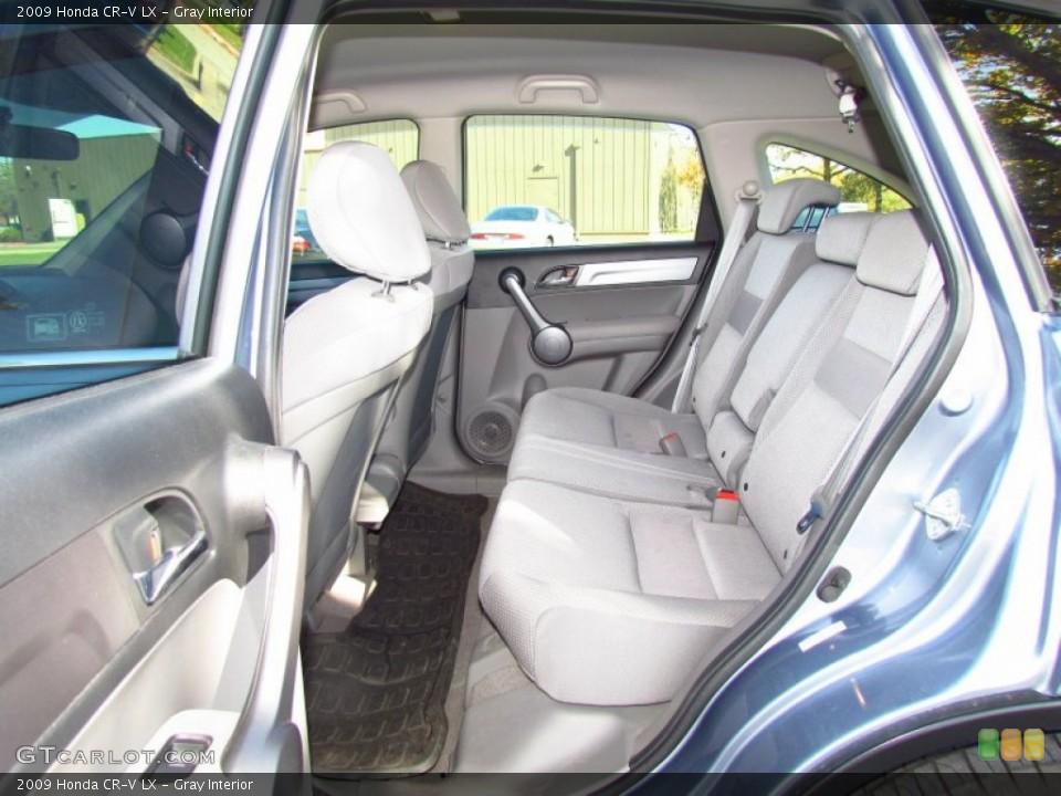 Gray Interior Photo for the 2009 Honda CR-V LX #56716007