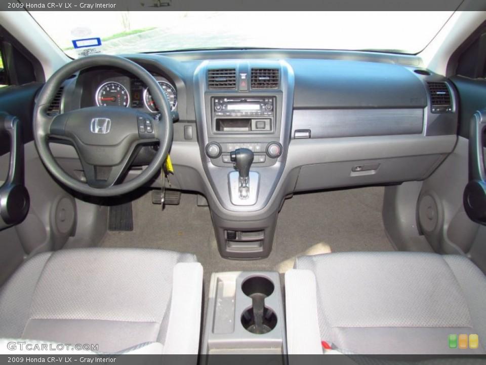 Gray Interior Dashboard for the 2009 Honda CR-V LX #56716022