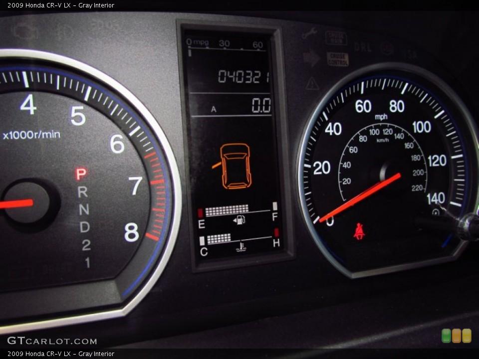 Gray Interior Gauges for the 2009 Honda CR-V LX #56716067