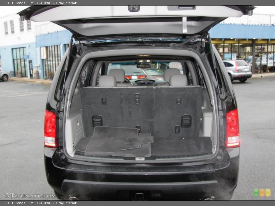 Gray Interior Trunk for the 2011 Honda Pilot EX-L 4WD #56798250