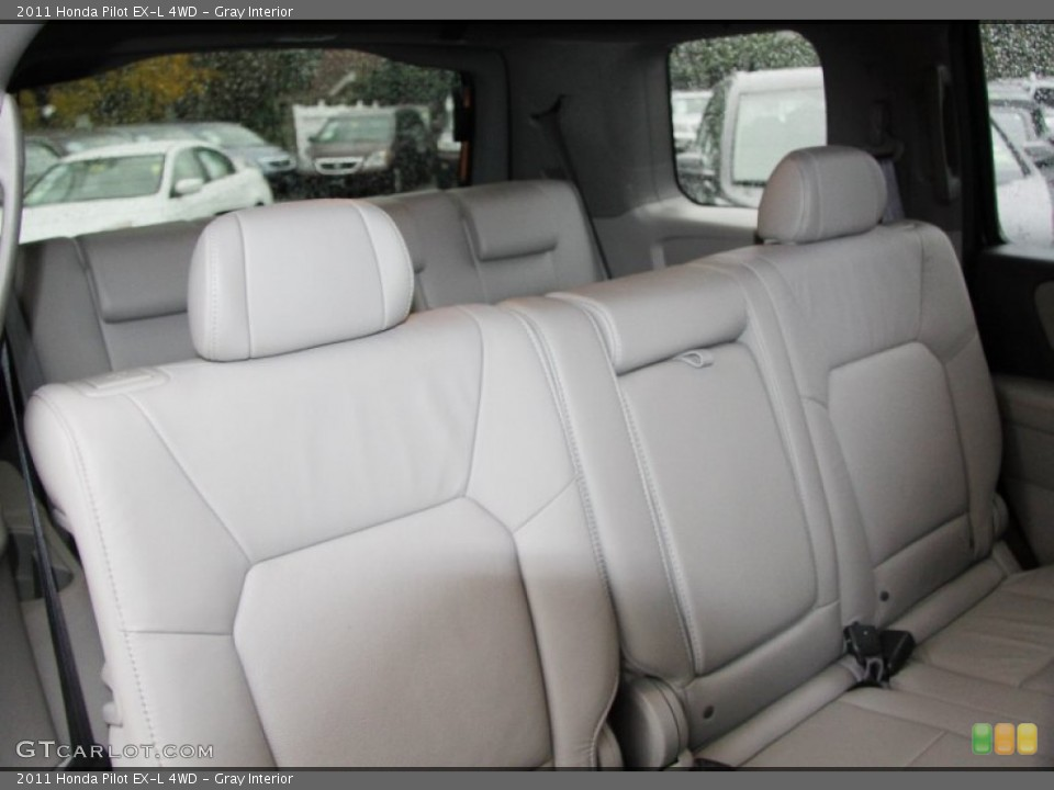Gray Interior Photo for the 2011 Honda Pilot EX-L 4WD #56798277