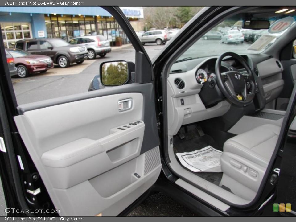 Gray Interior Door Panel for the 2011 Honda Pilot EX-L 4WD #56798283