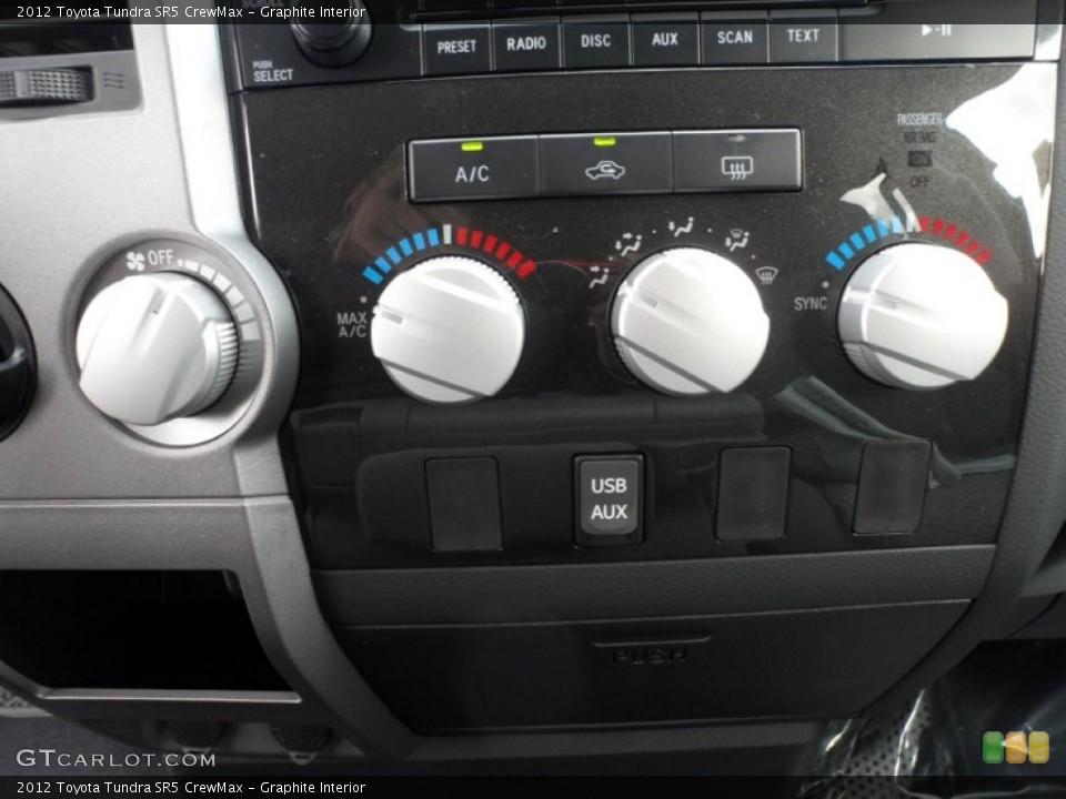 Graphite Interior Controls for the 2012 Toyota Tundra SR5 CrewMax #56811766