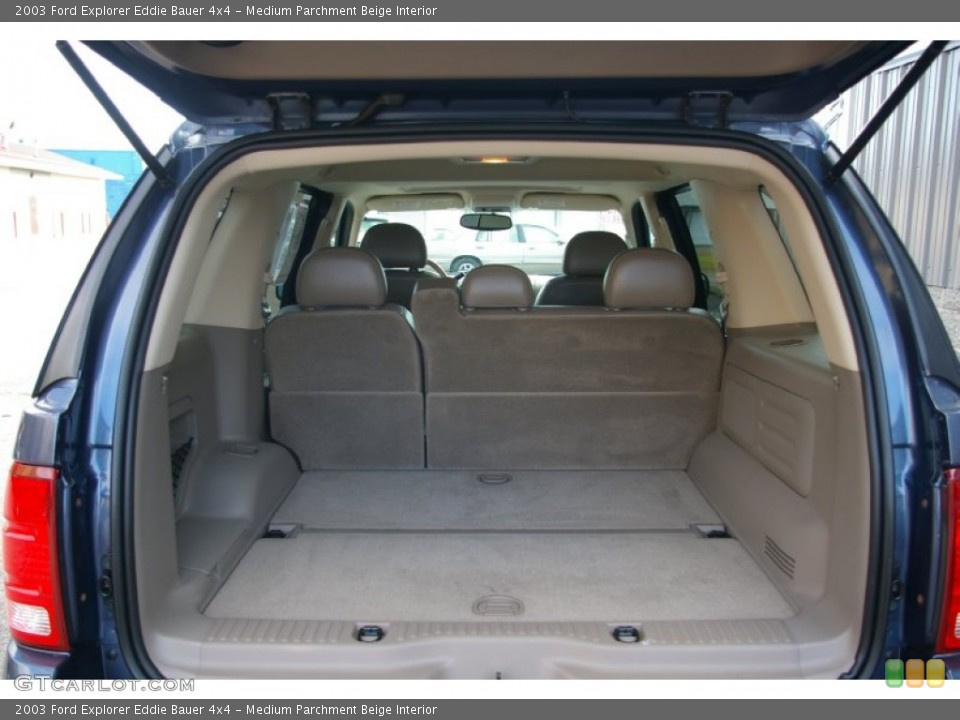 Medium Parchment Beige Interior Trunk for the 2003 Ford Explorer Eddie Bauer 4x4 #56814475