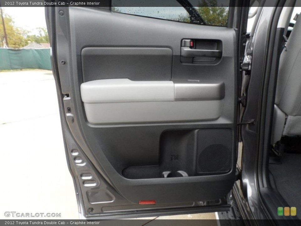 Graphite Interior Door Panel for the 2012 Toyota Tundra Double Cab #56868689