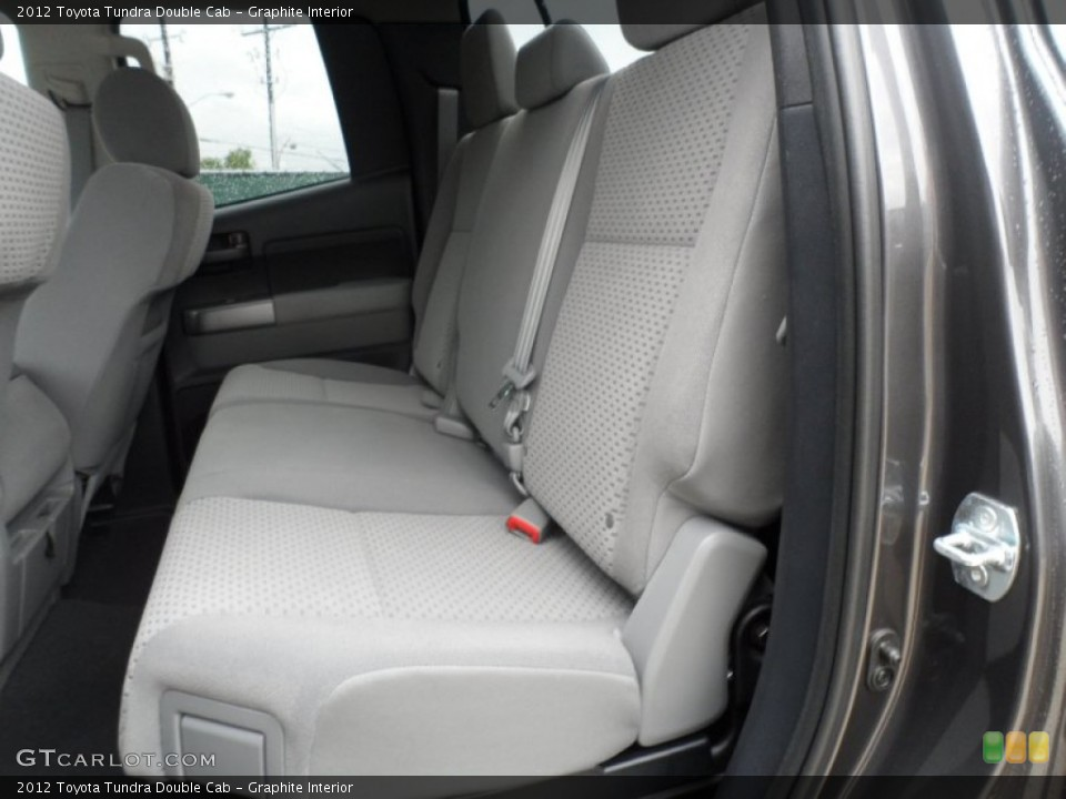 Graphite Interior Photo for the 2012 Toyota Tundra Double Cab #56868694