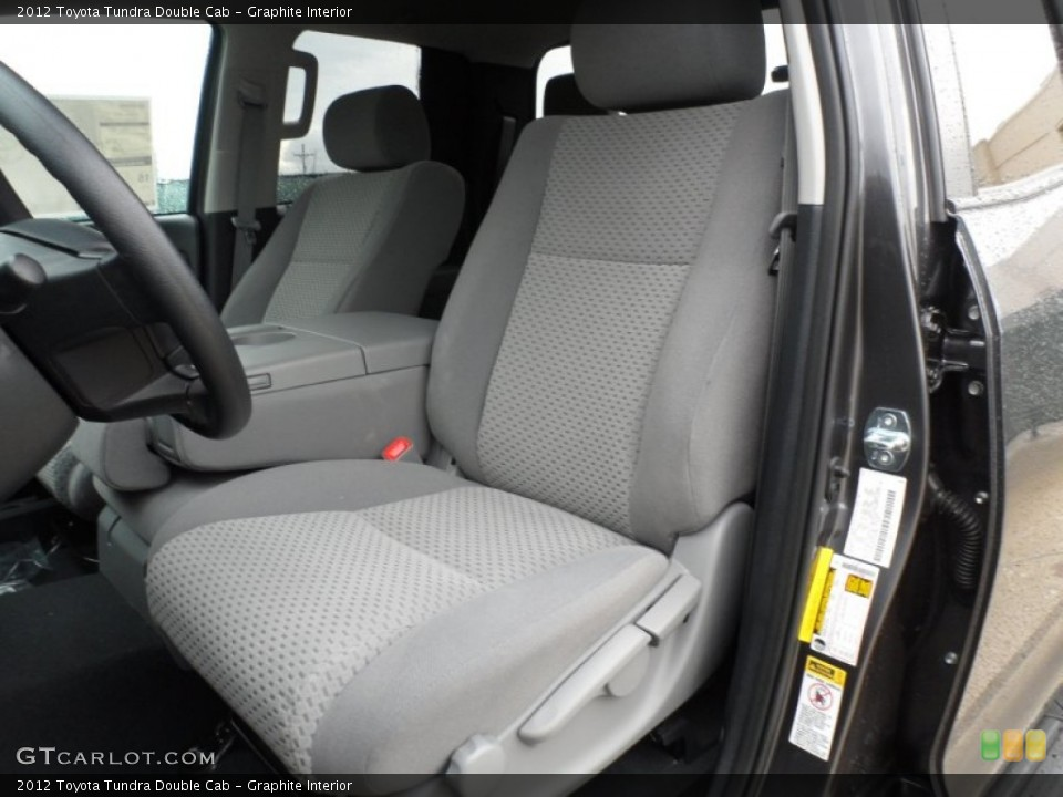 Graphite Interior Photo for the 2012 Toyota Tundra Double Cab #56868712