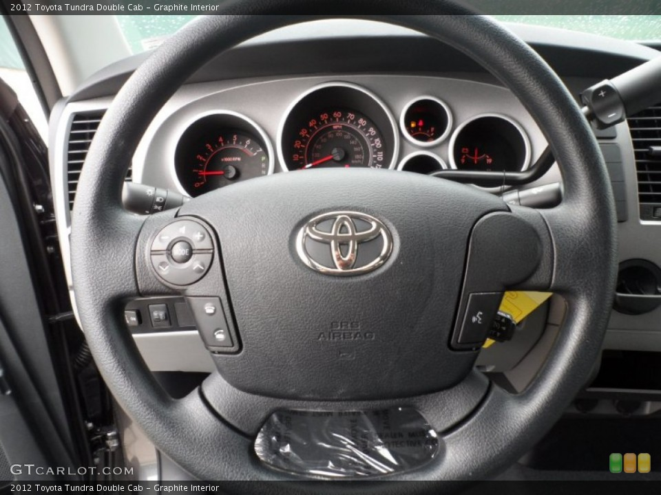 Graphite Interior Steering Wheel for the 2012 Toyota Tundra Double Cab #56868749