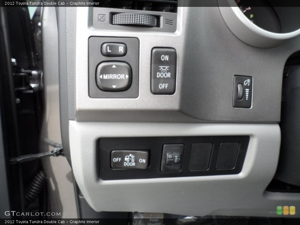 Graphite Interior Controls for the 2012 Toyota Tundra Double Cab #56868761