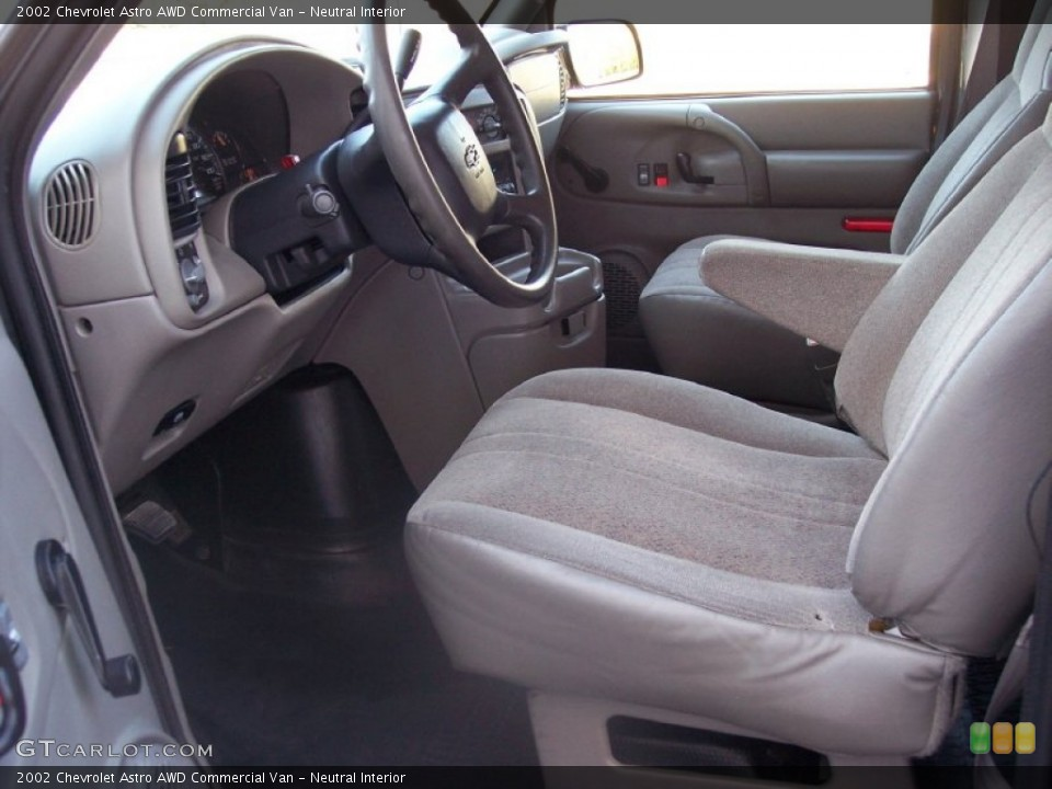 Neutral Interior Photo for the 2002 Chevrolet Astro AWD Commercial Van #56967608