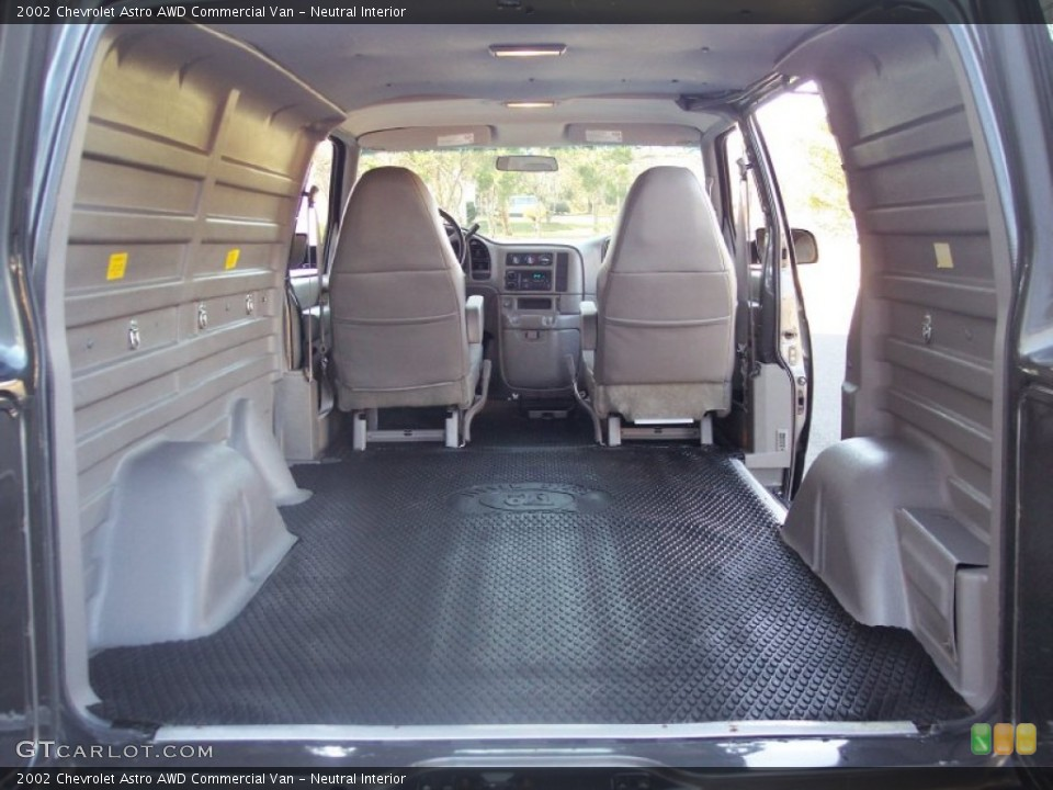 Neutral Interior Trunk for the 2002 Chevrolet Astro AWD Commercial Van #56967752