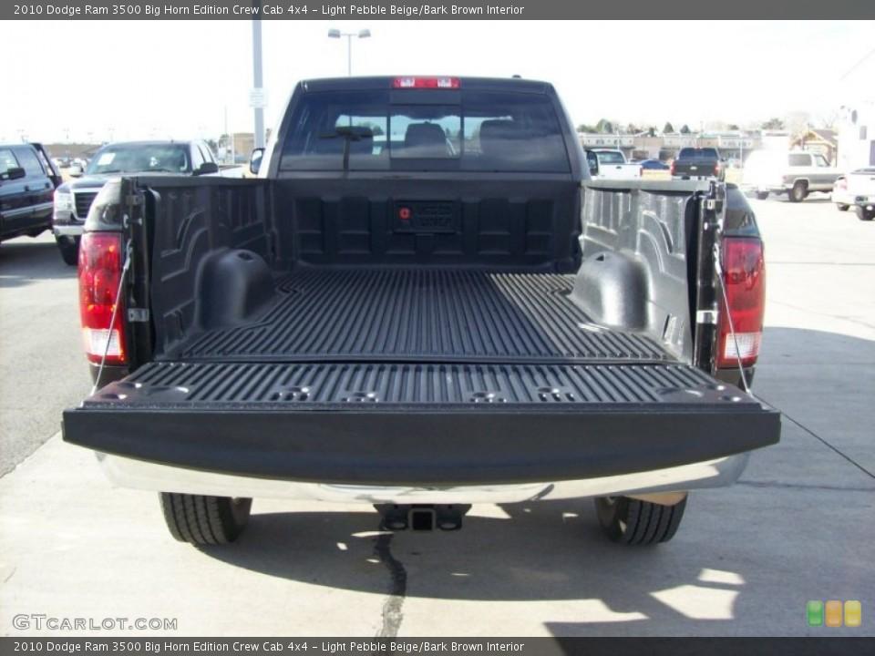 Light Pebble Beige/Bark Brown Interior Trunk for the 2010 Dodge Ram 3500 Big Horn Edition Crew Cab 4x4 #56971784