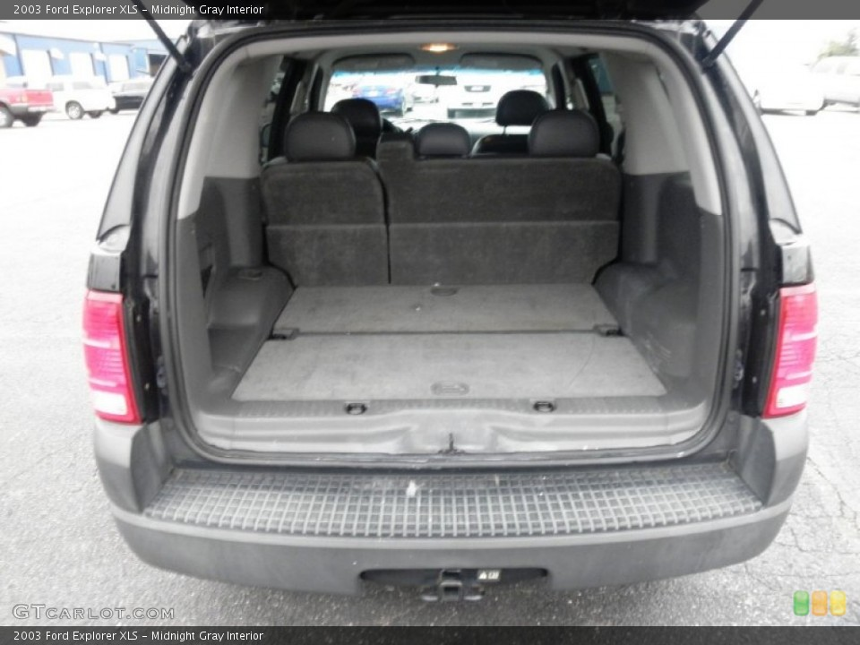 Midnight Gray Interior Trunk for the 2003 Ford Explorer XLS #57047507