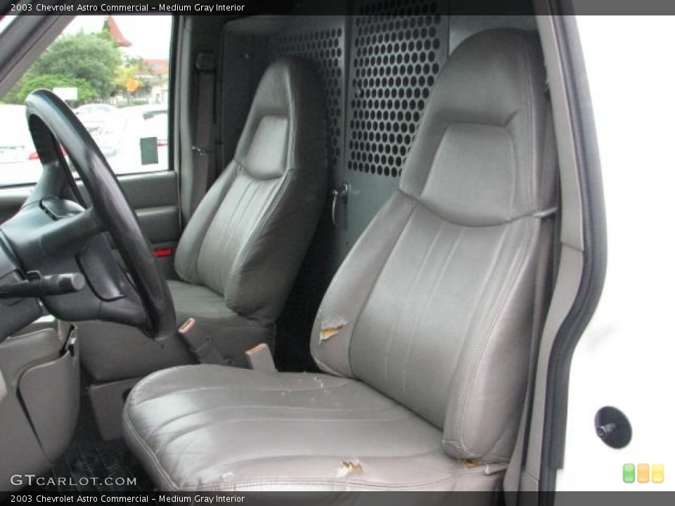 Medium Gray 2003 Chevrolet Astro Interiors