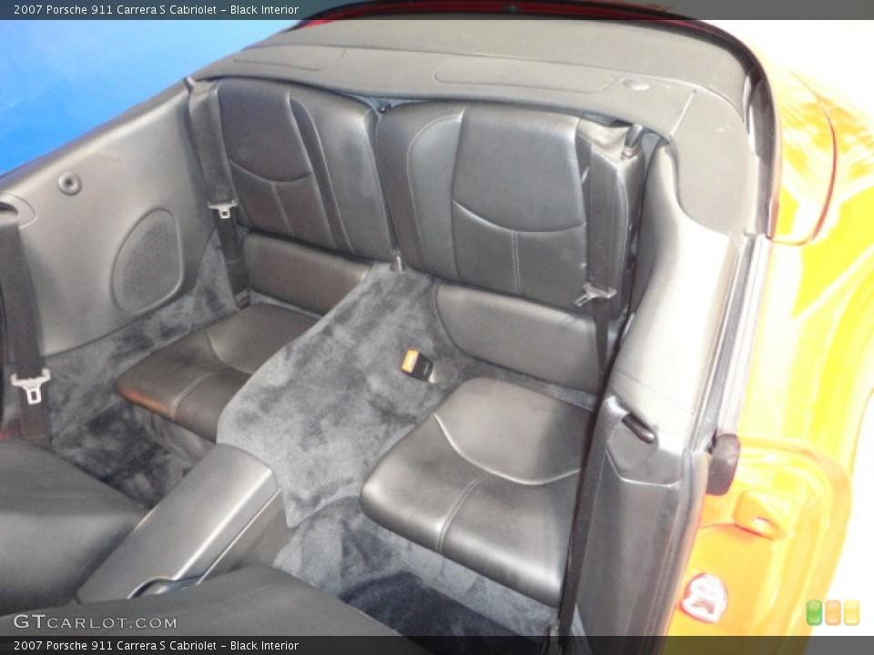 Black Interior Photo for the 2007 Porsche 911 Carrera S Cabriolet #57157026