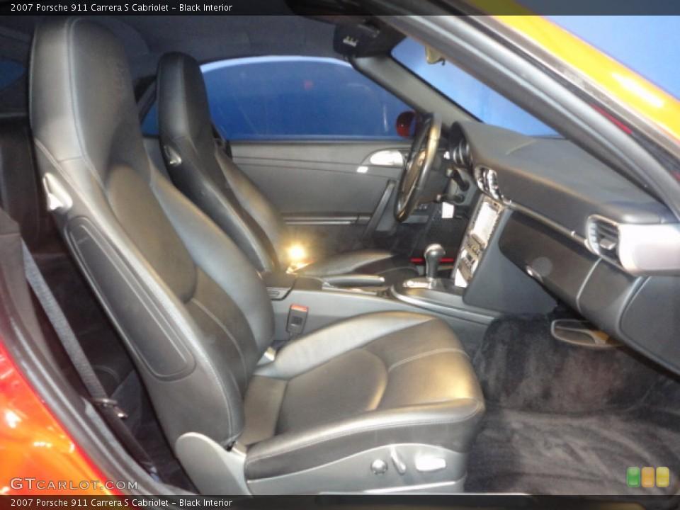 Black Interior Photo for the 2007 Porsche 911 Carrera S Cabriolet #57157054