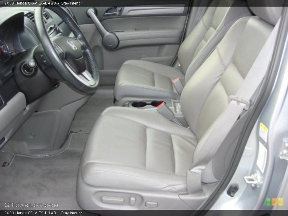 Gray Interior Photo for the 2009 Honda CR-V EX-L 4WD #57555038