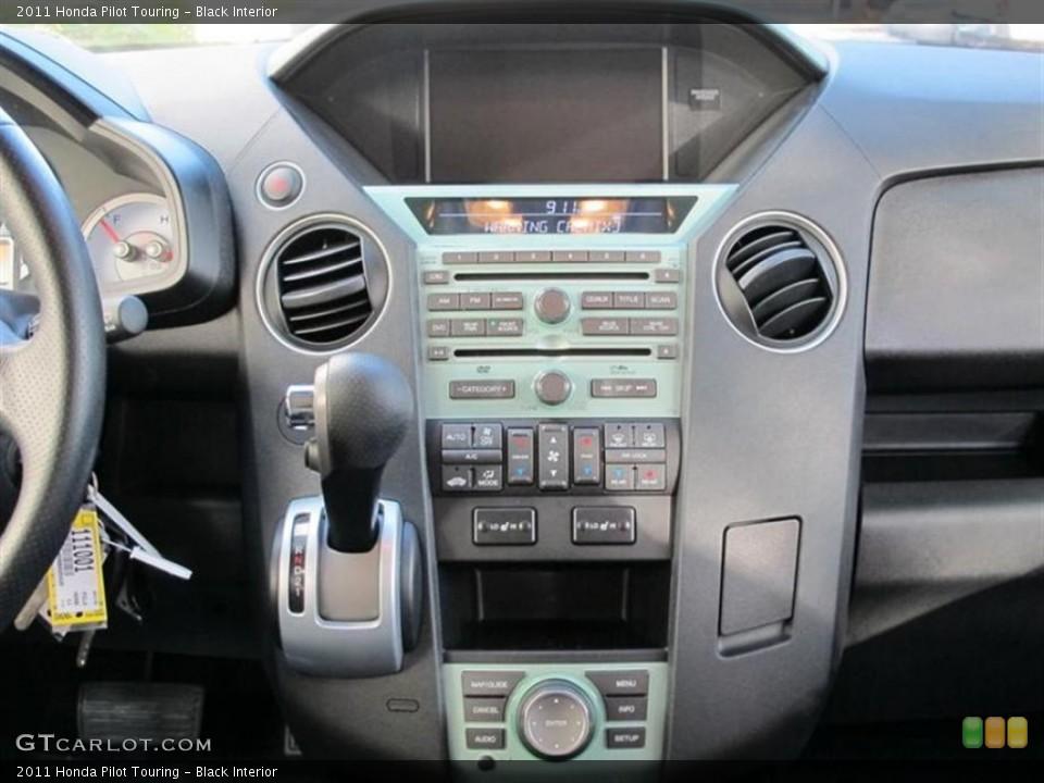 Black Interior Controls for the 2011 Honda Pilot Touring #57578642