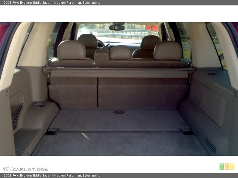 Medium Parchment Beige Interior Trunk for the 2003 Ford Explorer Eddie Bauer #57629849
