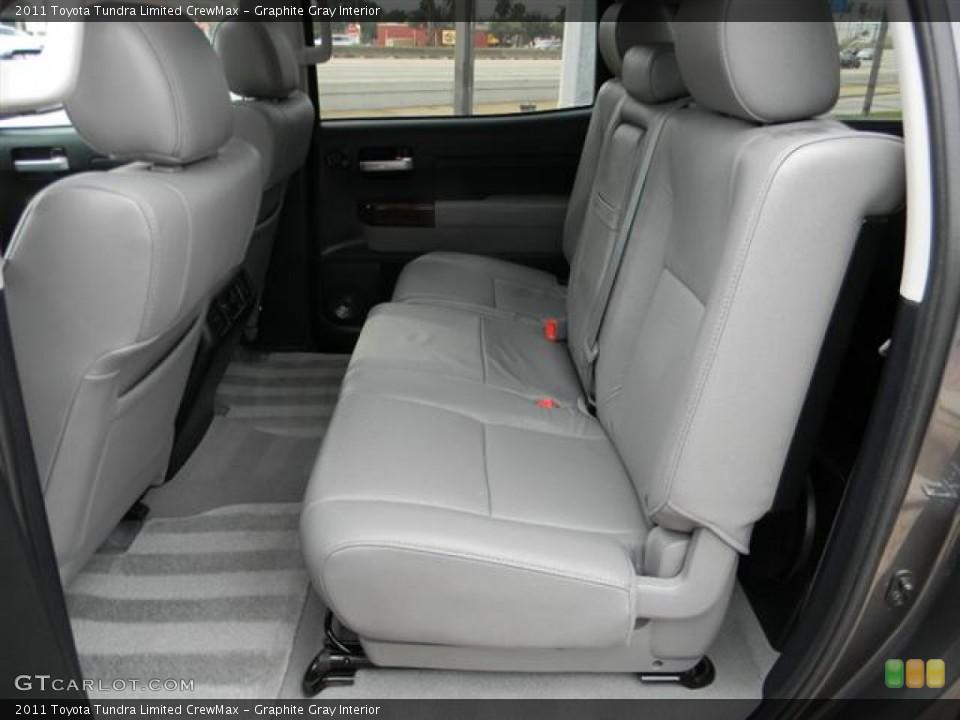 Graphite Gray Interior Photo for the 2011 Toyota Tundra Limited CrewMax #57817729