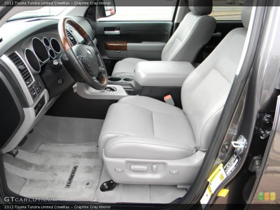 Graphite Gray Interior Photo for the 2011 Toyota Tundra Limited CrewMax #57817759