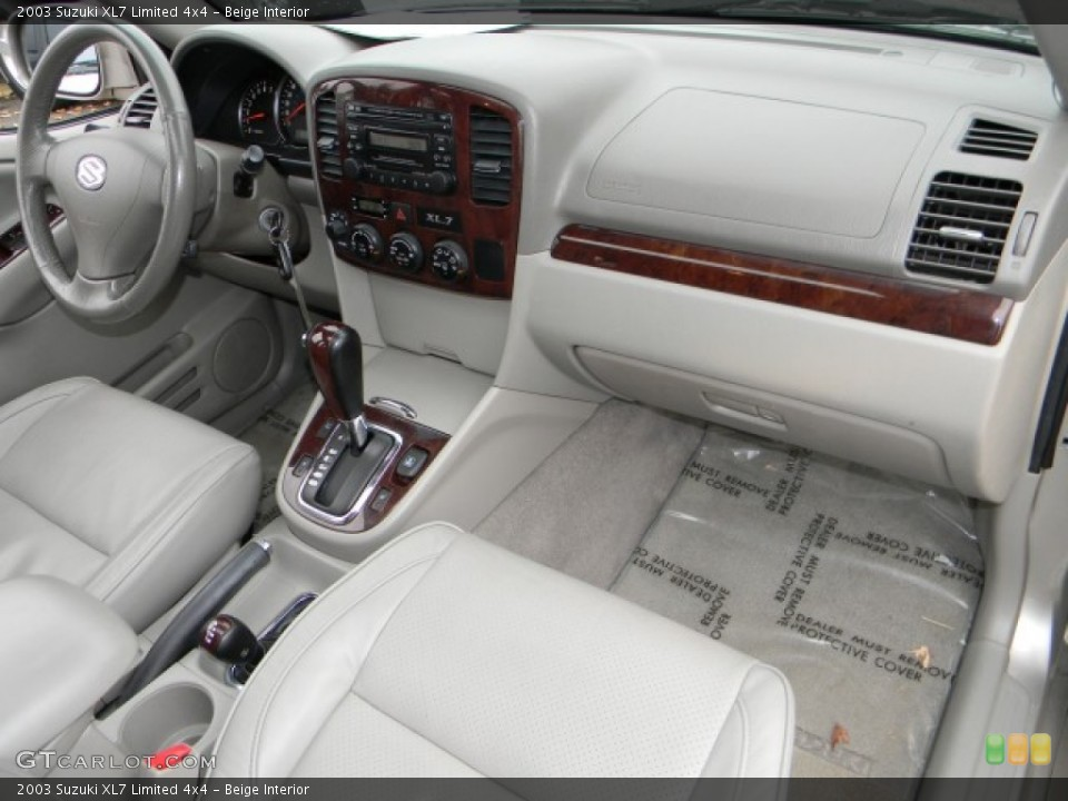 beige interior dashboard for the 2003 suzuki xl7 limited 4x4 57881542 gtcarlot com gtcarlot com