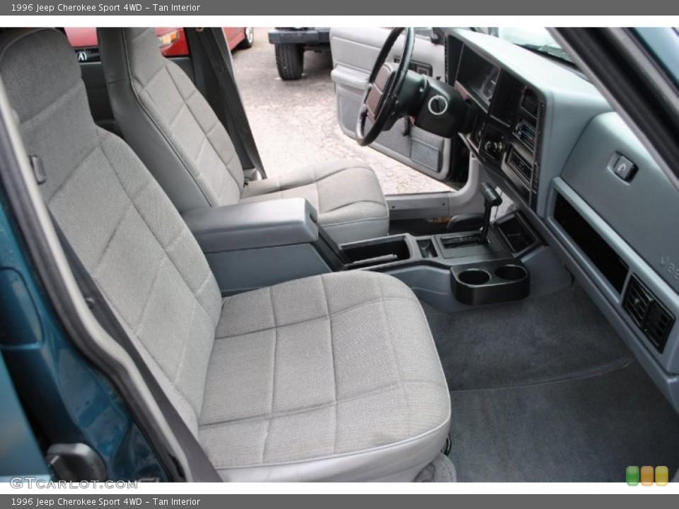 Tan interior photo for the 1996 jeep cherokee sport 4wd - 1996 jeep grand cherokee interior ...