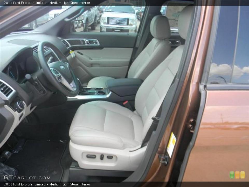Medium Light Stone Interior Photo for the 2011 Ford Explorer Limited #58165844
