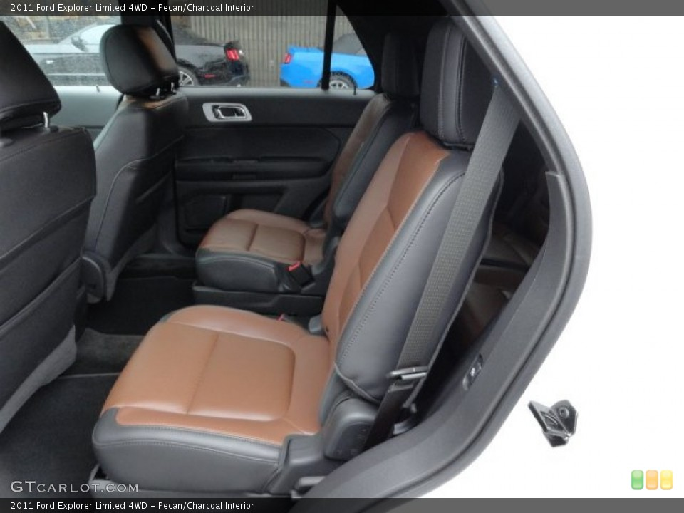 Pecan/Charcoal Interior Photo for the 2011 Ford Explorer Limited 4WD #58187719